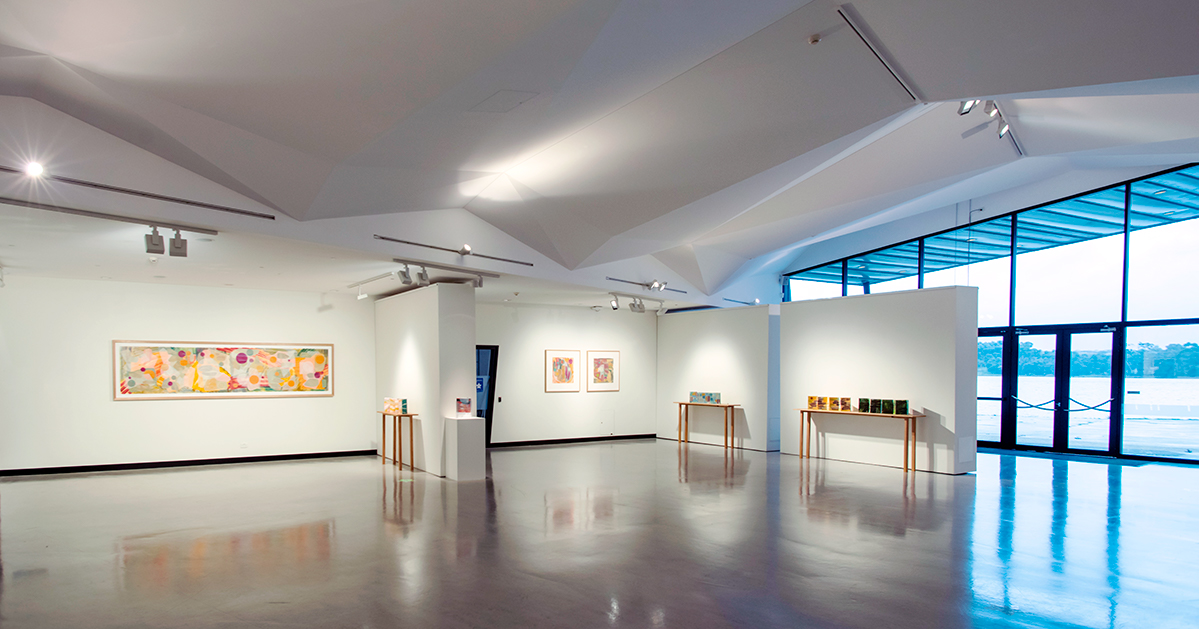 Looking towards the north windows in the Generator Gallery [photo by Martin Ollman].