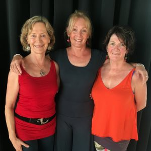 Jen, Kerryn and Laurien of Nia Dance
