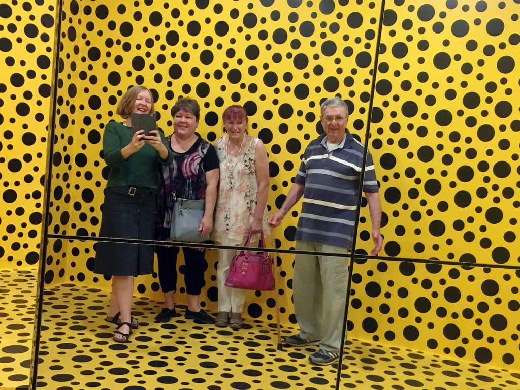 IGNITE: Social participants visit the National Gallery of Australia