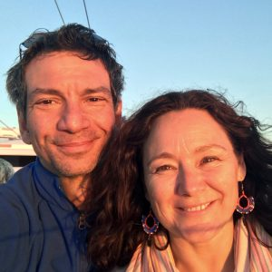 Biodanza tutors Claudio and Kate
