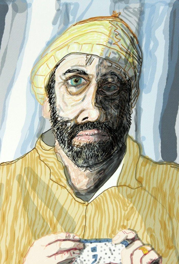 Mental Health Portrait by Daniel Allam
