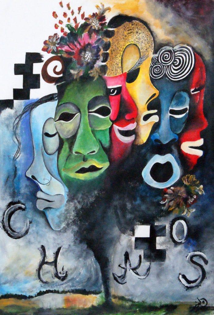 CHAOS by Sania Faizan