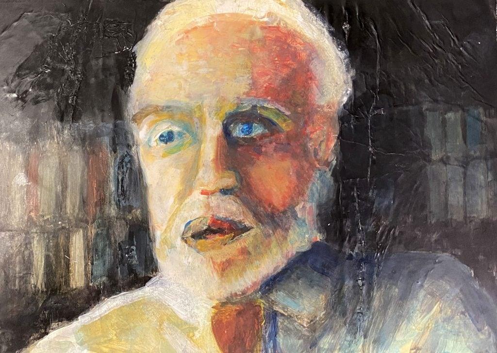 Portrait of an Academic by Edwin Gardiner