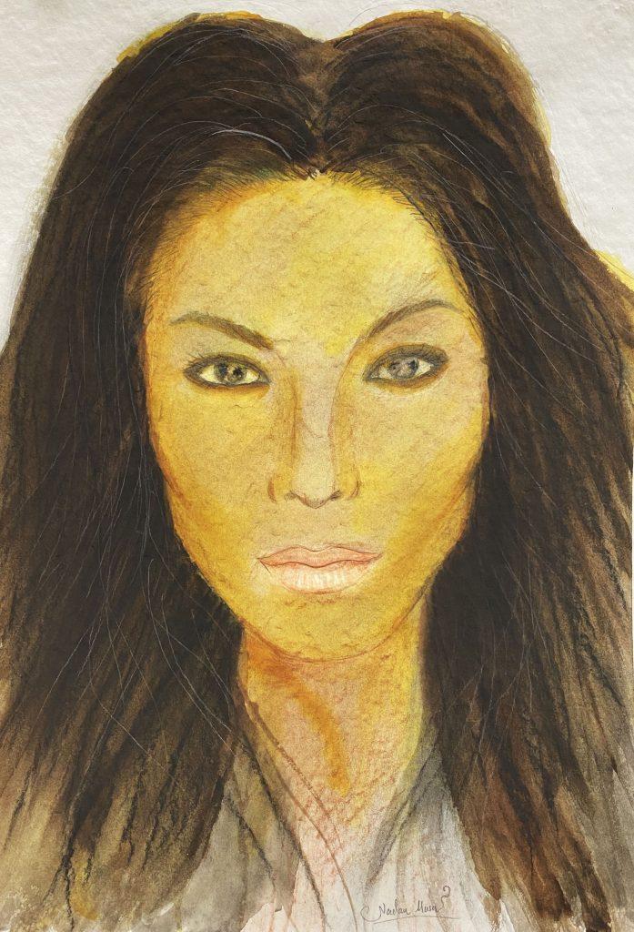Face of Grace 1 by Nadar Musa