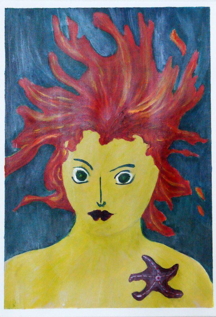 Sulphur Mermaid by Denise Rawling