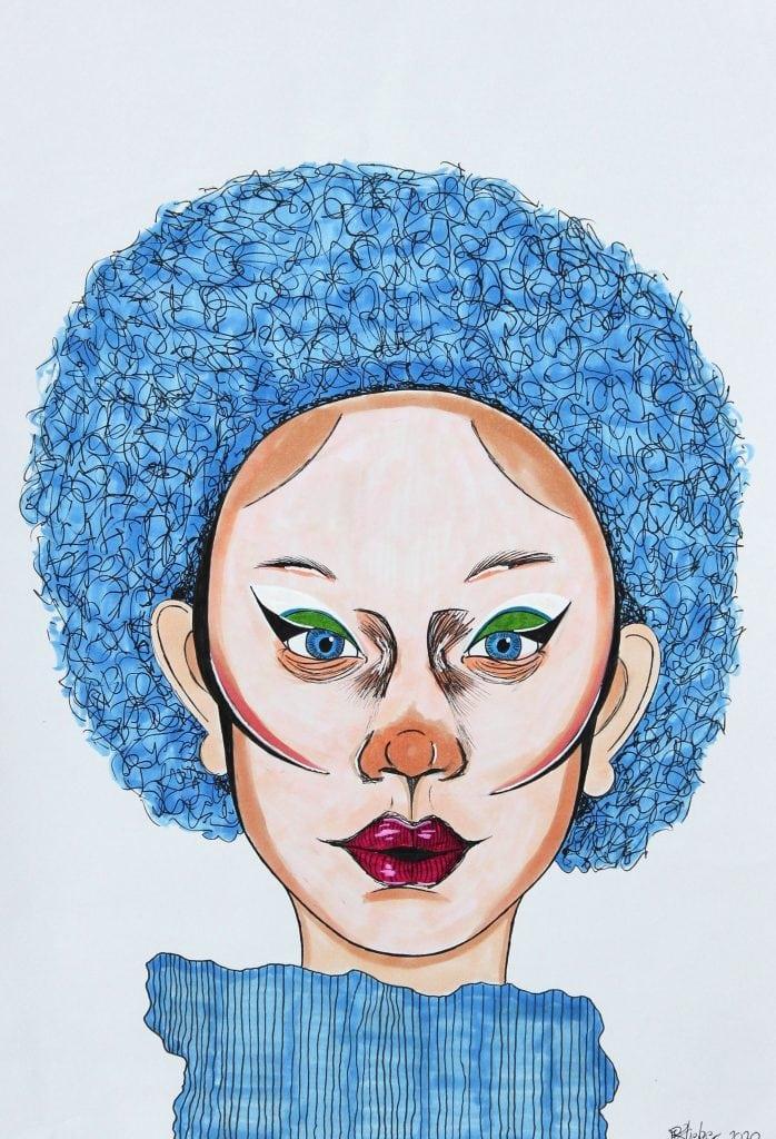 Pourquoi si bleu? by Edward Slieker