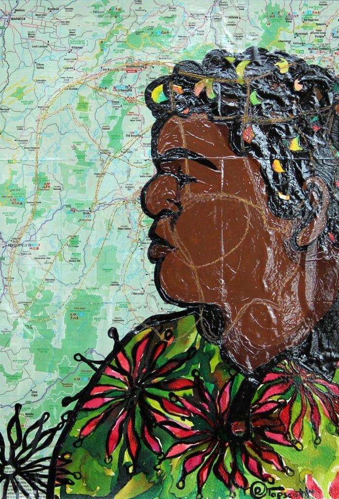 Galibal Land Bundjalung Man by Rebecca Tapscott