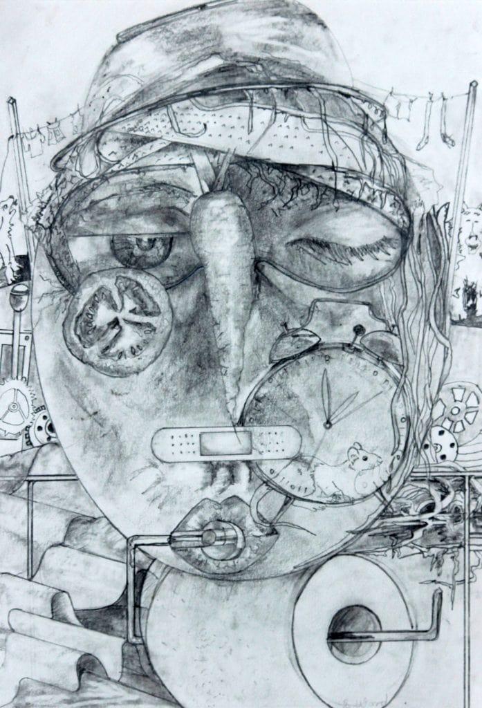 Mummies Face by Sonia Ward