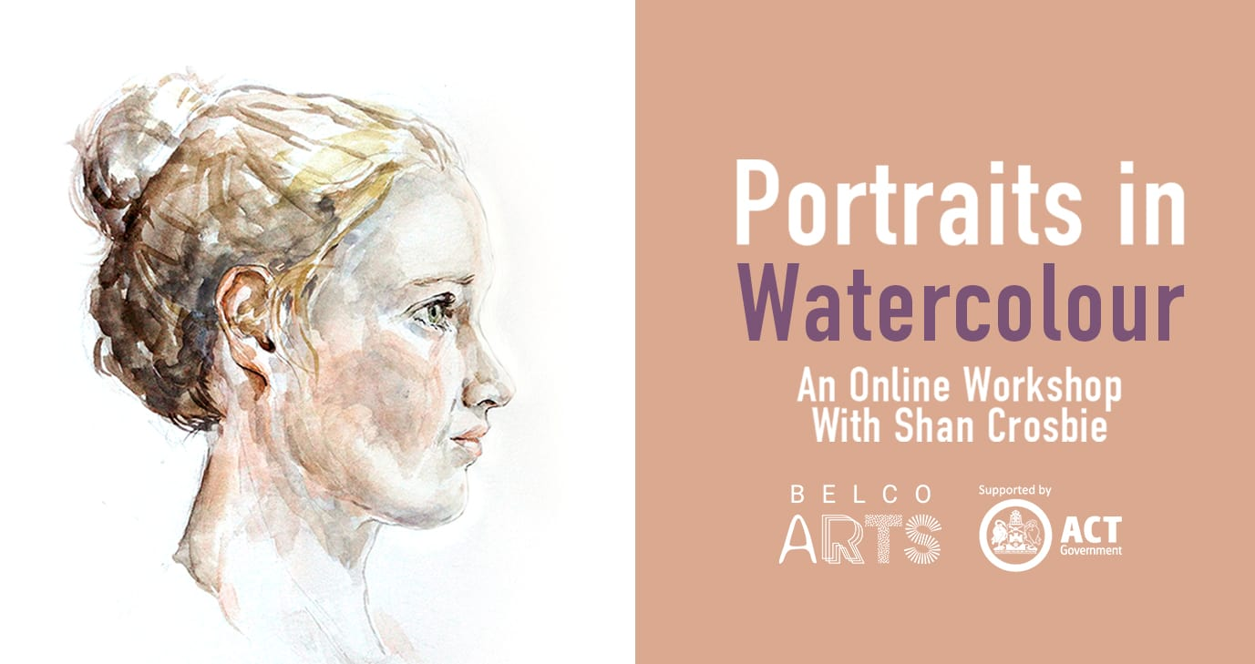Portraits in Watercolour with Shan Crosbie