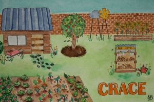 Shannon Brown, Garden at Crace