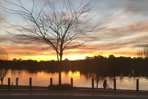 Christie Yau, Sunset at Yerrabi Pond