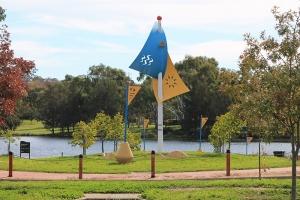 Talon Cass-Dunbar, Flags on Yerrabi
