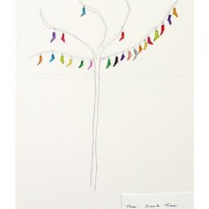 Sock Tree by Olga Walker