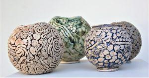 Pots by Loretta Halloran