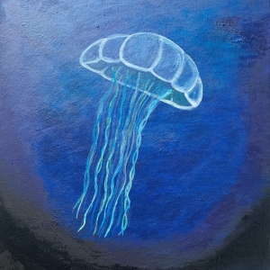<em>The soothing movement of a Jellyfish by Alejandra Fearon