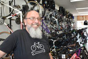 Antoinette Karsten, Australia. Cookie's cycles, Framed photograph