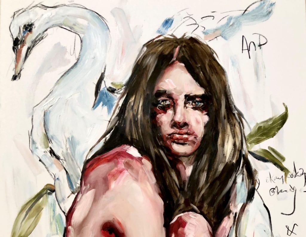 Odette (detail) by Ashley Cullen