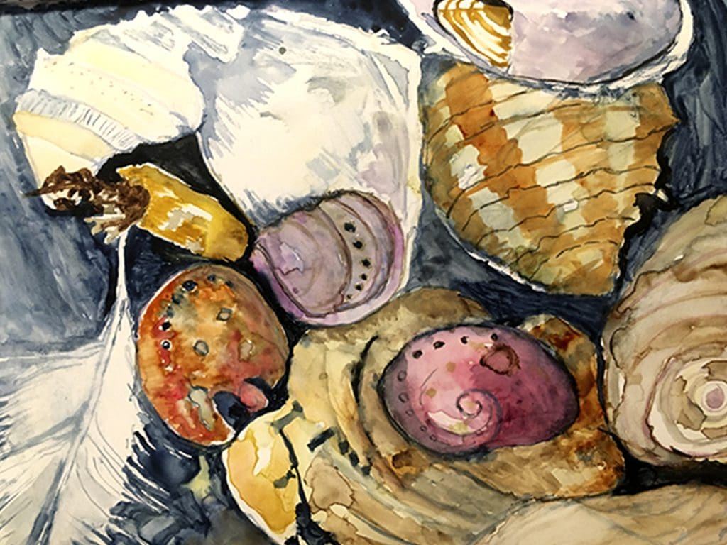 Watercolour: Studies of Small Things with Nicolette Benjamin Black