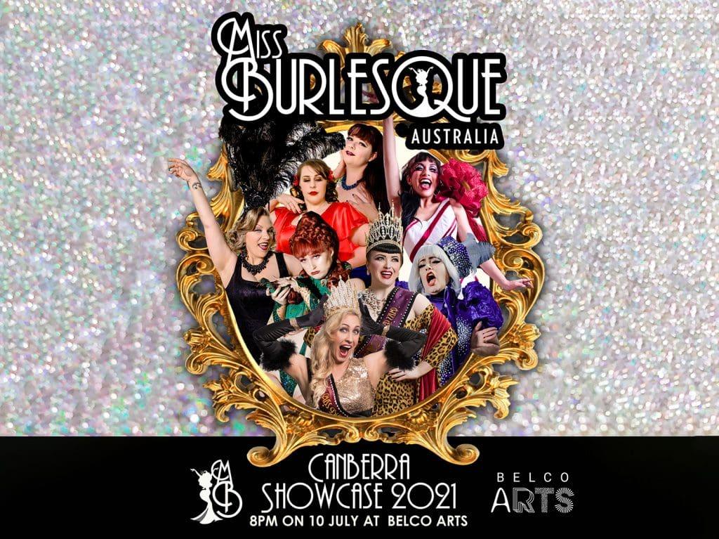 Miss Burlesque Canberra Showcase