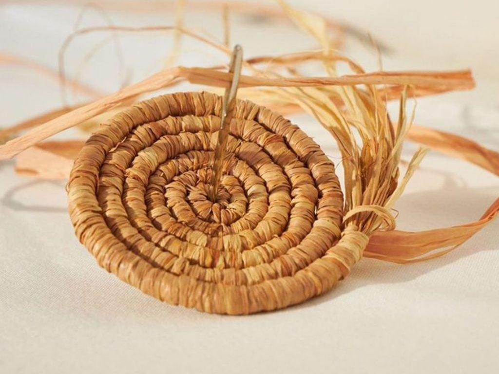 Make Your Own Raffia Basket