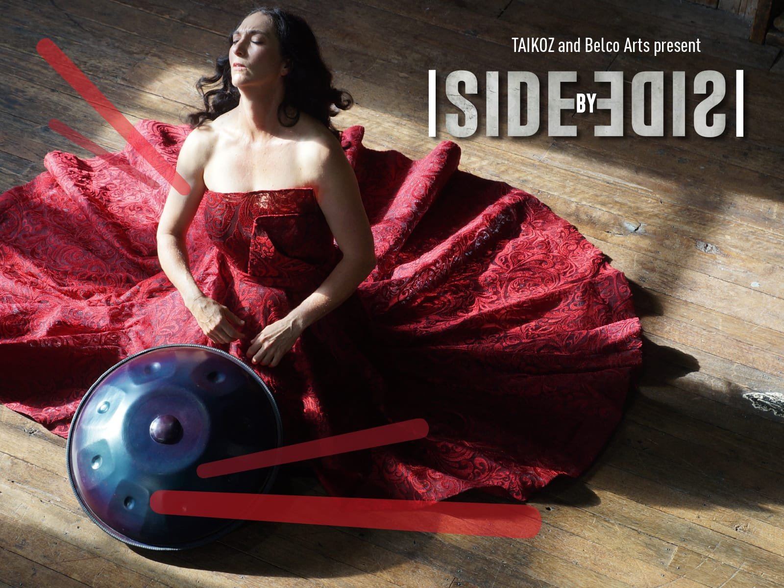 Taikoz and Belco Arts present Side by Side